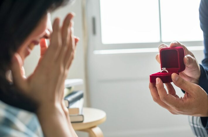シニア男性からのプロポーズ