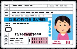 運転免許書
