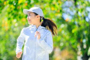 マッチングアプリ ジョギングしているサブ写真