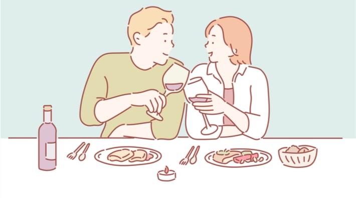 食事の話題