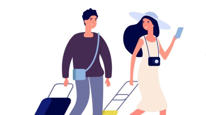 旅行の話題