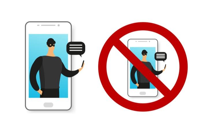 詐欺とスマートフォン