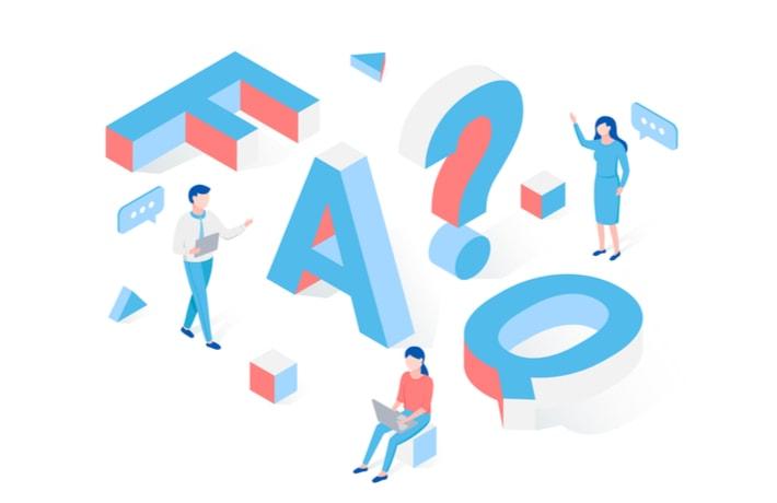 FAQのイラスト