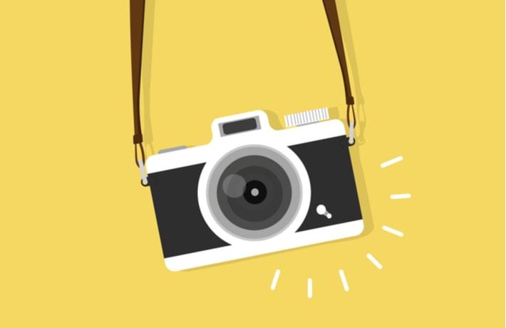 カメラのイラスト