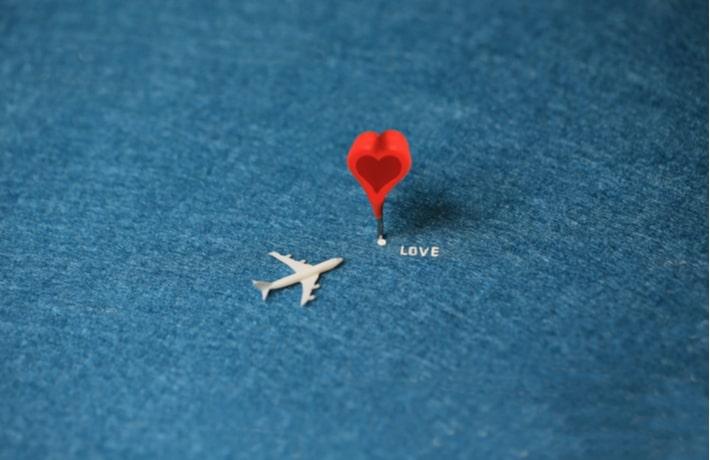 遠距離恋愛のイメージ画像