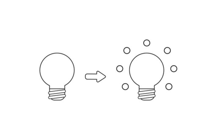 2つの電球