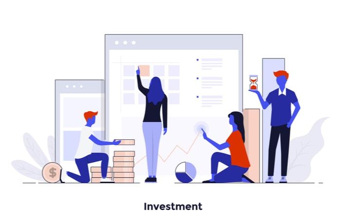 投資を表すイラスト