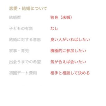 プロフィール選択項目01