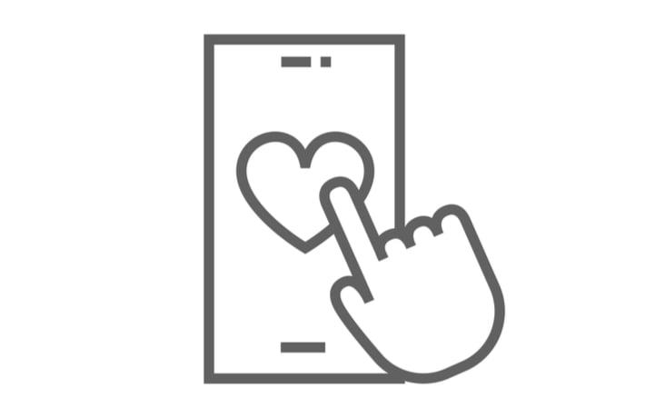 マッチングアプリのイメージ