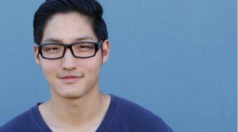 真面目なメガネの男性