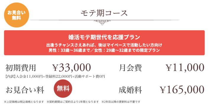 結婚相談所エンジェライト モテ期コース