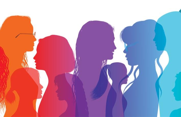 複数の女性